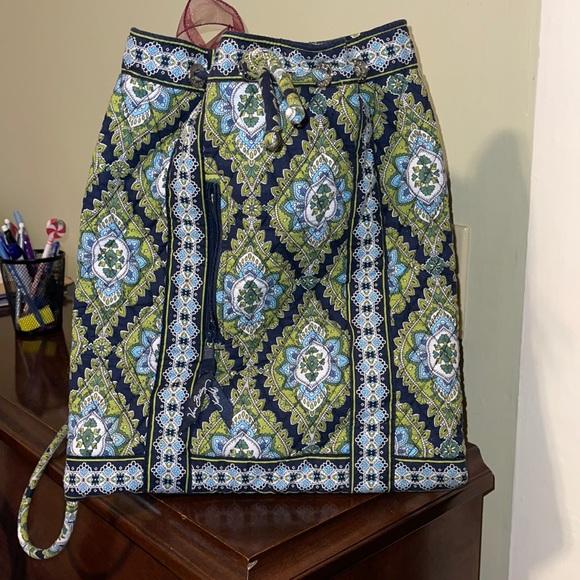 Vera Bradley small drawstring backpack